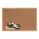 Korková tabuľa s potlačou v drevenom ráme (60x40 cm)